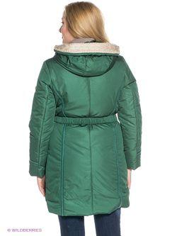 Пальто X'cluSIve                                                                                                              зелёный цвет