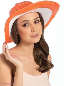 Шляпы Sela                                                                                                              оранжевый цвет