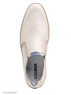 Слипоны Cooper                                                                                                              бежевый цвет