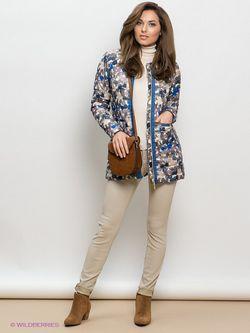 Пальто Geox                                                                                                              синий цвет