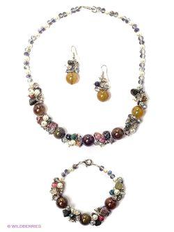 Комплекты Бижутерии Migura                                                                                                              прозрачный цвет