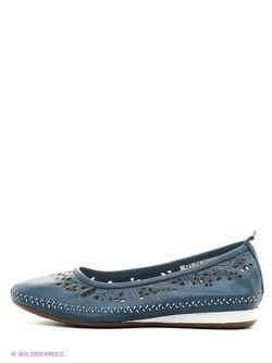 Туфли SHOIBERG                                                                                                              голубой цвет