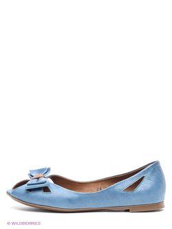 Балетки Mario Ponti                                                                                                              синий цвет