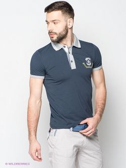 Футболки-Поло BAGGAGE                                                                                                              синий цвет