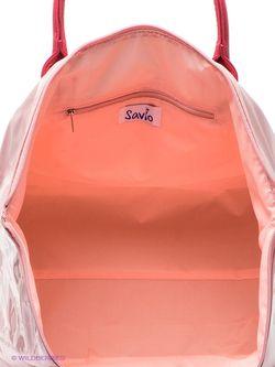 Сумки Savio                                                                                                              розовый цвет