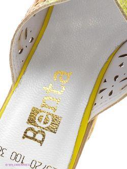 Сабо Benta                                                                                                              желтый цвет