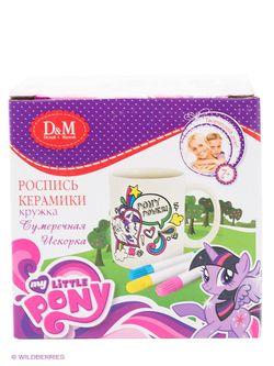 Наборы Для Вышивания Делай с мамой                                                                                                              фиолетовый цвет