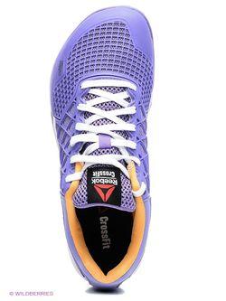 Кроссовки Reebok                                                                                                              фиолетовый цвет