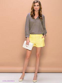 Блузки ELENA FEDEL                                                                                                              желтый цвет