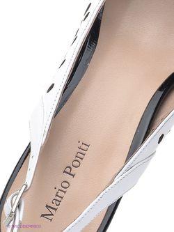 Туфли Mario Ponti                                                                                                              чёрный цвет