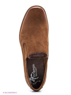Ботинки El Tempo                                                                                                              коричневый цвет