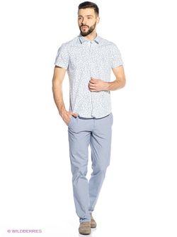 Рубашки Oodji                                                                                                              синий цвет