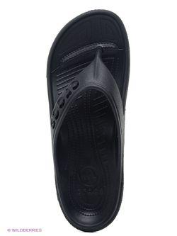 Шлепанцы Crocs                                                                                                              черный цвет