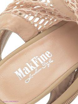 Босоножки Makfine                                                                                                              бежевый цвет
