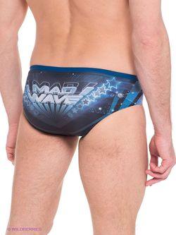 Плавки Mad Wave                                                                                                              синий цвет