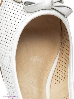 Балетки Eva Mayer                                                                                                              белый цвет
