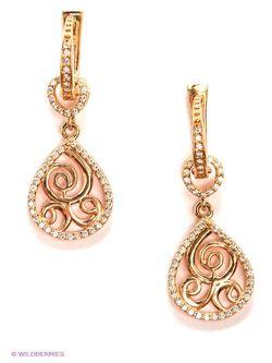 Ювелирные Серьги Lovely Jewelry                                                                                                              Золотистый цвет