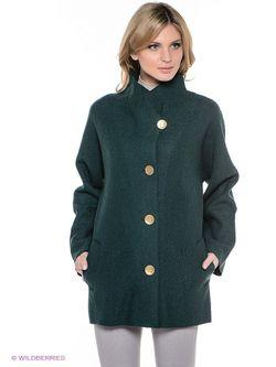 Пальто Alena Alenkina                                                                                                              зелёный цвет