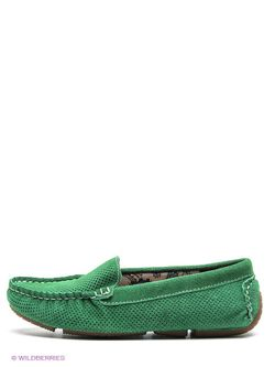 Мокасины Dino Ricci                                                                                                              зелёный цвет