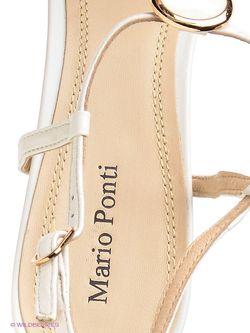 Босоножки Mario Ponti                                                                                                              белый цвет