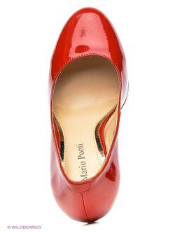 Туфли Mario Ponti                                                                                                              красный цвет