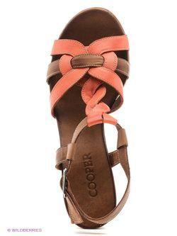 Босоножки Cooper                                                                                                              розовый цвет