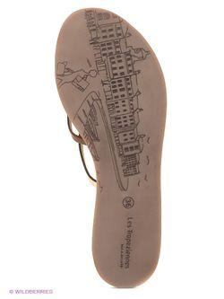 Шлепанцы Les Tropeziennes                                                                                                              коричневый цвет