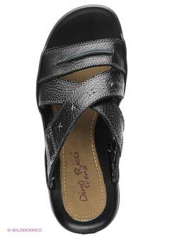 Шлепанцы Dino Ricci                                                                                                              черный цвет