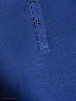 Поло Alfred Muller                                                                                                              синий цвет