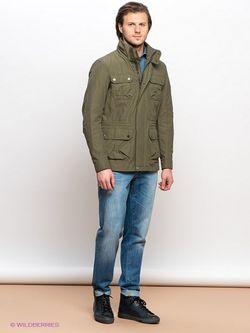 Куртки Geox                                                                                                              хаки цвет