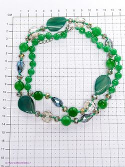 Колье Migura                                                                                                              зелёный цвет