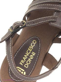 Босоножки Francesco Donni                                                                                                              коричневый цвет