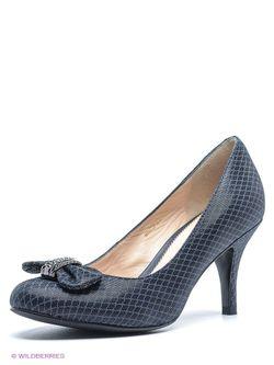 Туфли Moda Donna                                                                                                              синий цвет