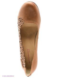 Туфли Renaissance                                                                                                              коричневый цвет