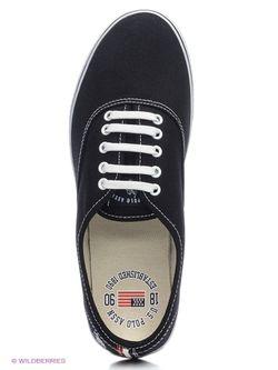 Кеды U.S. Polo Assn.                                                                                                              черный цвет