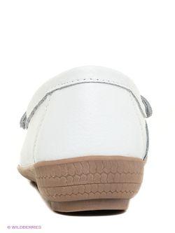 Мокасины Dodgio                                                                                                              белый цвет