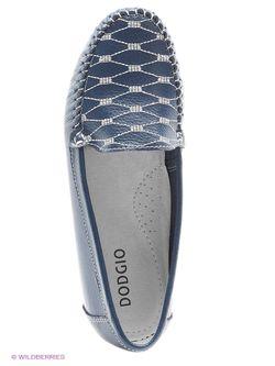 Мокасины Dodgio                                                                                                              синий цвет