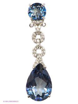 Ювелирные Подвески Art Silver                                                                                                              голубой цвет