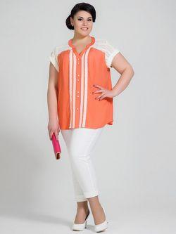 Блузки Silver-String                                                                                                              Персиковый цвет