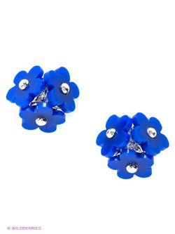 Серьги Lovely Jewelry                                                                                                              синий цвет