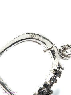 Ювелирные Серьги Art Silver                                                                                                              чёрный цвет