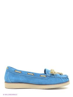 Мокасины Daniela Bernardi                                                                                                              голубой цвет