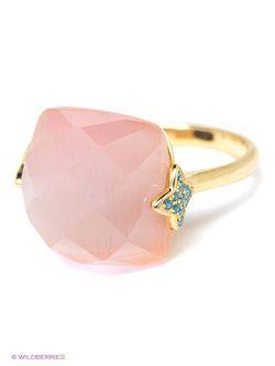 Ювелирные Кольца JV ДЖЕЙ ВИ                                                                                                              розовый цвет