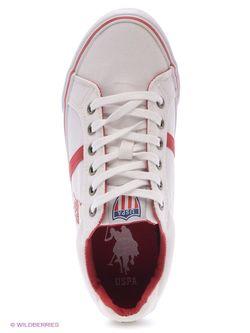 Кеды U.S. Polo Assn.                                                                                                              красный цвет