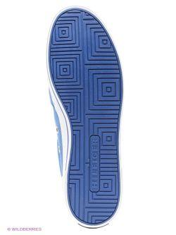 Слипоны Tommy Hilfiger                                                                                                              голубой цвет