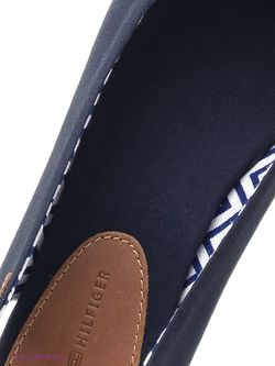 Балетки Tommy Hilfiger                                                                                                              синий цвет
