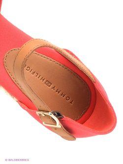 Босоножки Tommy Hilfiger                                                                                                              красный цвет