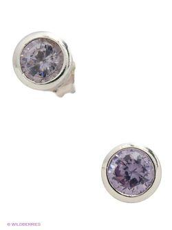 Ювелирные Серьги Happy Garnets                                                                                                              фиолетовый цвет