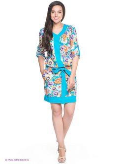 Платья Klimini                                                                                                              голубой цвет