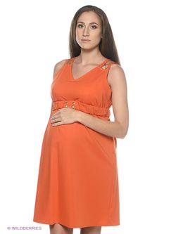 Платья EUROMAMA                                                                                                              оранжевый цвет